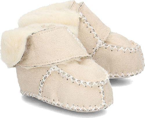 Playshoes Playshoes - Kapcie Dziecięce - 105932 2 - NATUR 16/17