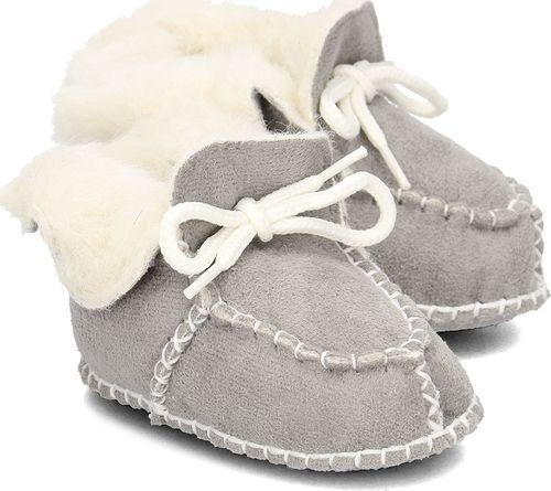 Playshoes Playshoes - Kapcie Dziecięce - 105931 33 - GRAU 16/17