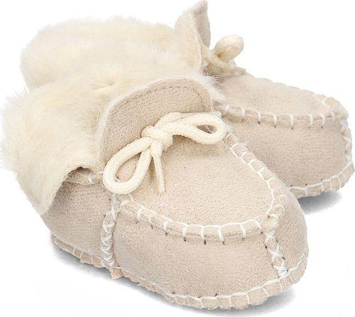 Playshoes Playshoes - Kapcie Dziecięce - 105931 2 - NATUR 16/17