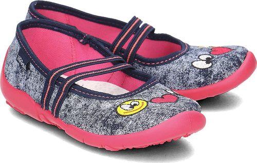 VI-GGA-MI Pantofle dziecięce Olga haft r. 26