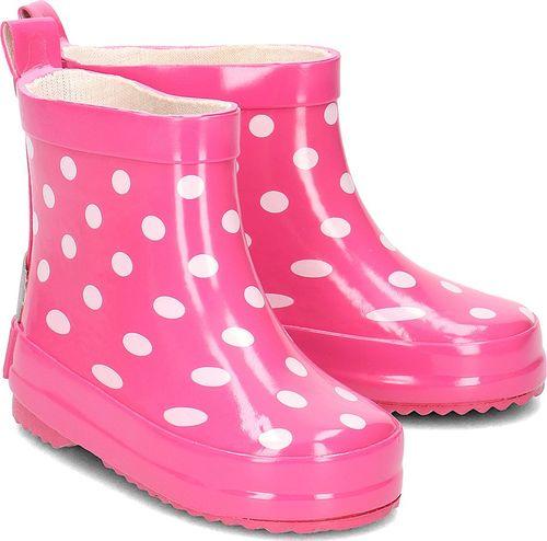 Playshoes Playshoes - Kalosze Dziecięce - 180358 18-PINK 23