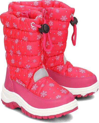 Playshoes Playshoes - Śniegowce Dziecięce - 193013 18 - PINK 22/23