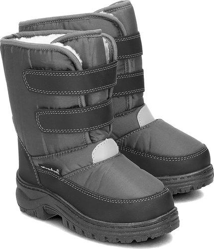 Playshoes Playshoes - Śniegowce Dziecięce - 193010 33 - GRAU  24/25