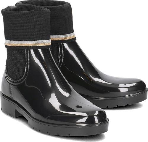 Tommy Hilfiger Tommy Hilfiger Knitted Sock Rain - Kalosze Damskie - FW0FW03565 990 37