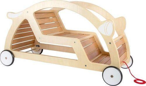 Small Foot Jeździk auto-mobile dla dzieci - naturalne drewno - złożony uniw
