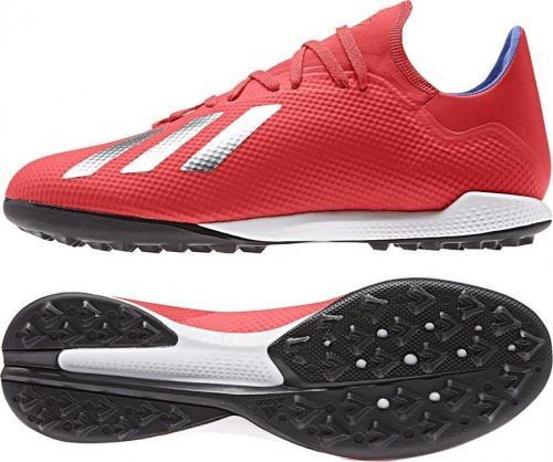 Adidas Buty piłkarskie X 18.3 TF BB9399 czerwone r. 45 1/3