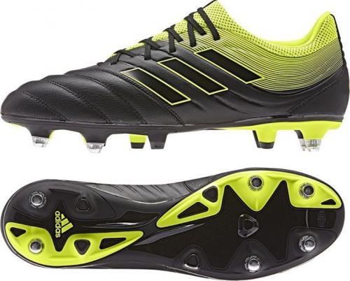 Adidas Buty piłkarskie Copa 19.3 SG CG6920 czarne r. 47 1/3