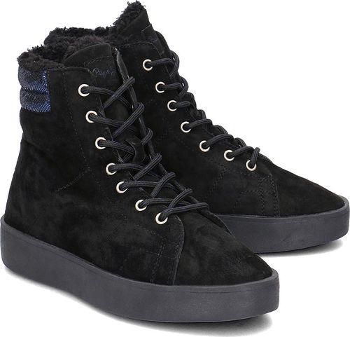 Pepe Jeans Buty damskie Brixton Goose czarne r. 39 (PLS30774-999)