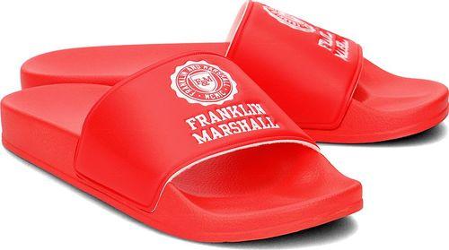 Franklin Franklin Marshall - Klapki Męskie - FTUA983S18 RED 41/42