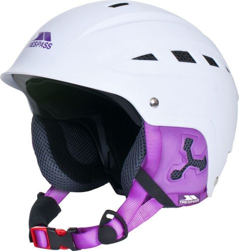 Trespass Kask narciarski Davenport biało-fioletowy r. L
