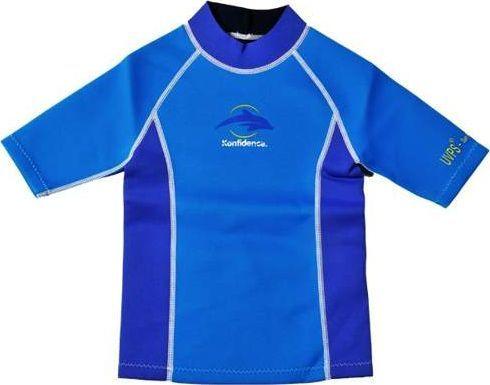 Konfidence Koszulka do pływania niebieska r. 6-7 lat
