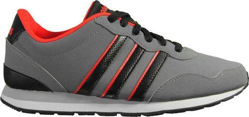 Adidas Buty dziecięce V Jog szare r. 36 2/3 (AW4837)