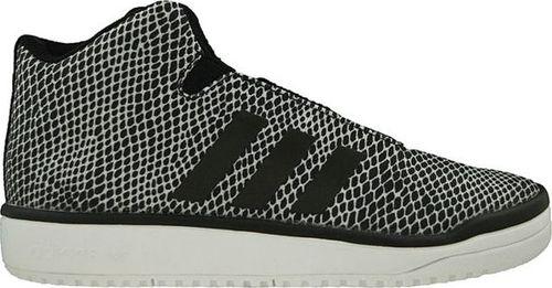 Adidas Buty dziecięce Veritas Mid biało-czarne r. 36 2/3 (S82862)