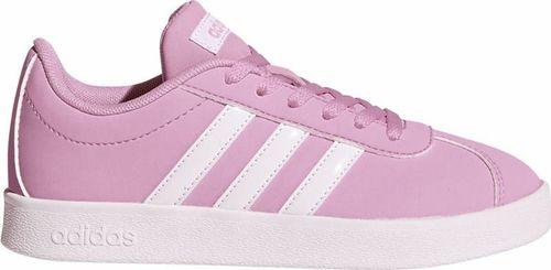 Adidas Buty dziecięce Vl Court 2.0 różowe r. 38 2/3 (DB1517)