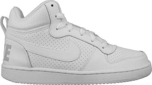 Nike Buty dziecięce Court Borough Mid Gs białe r. 38 (83997-100)