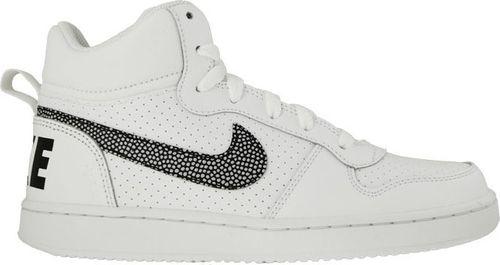 Nike Obuwie dziecięce Court Borough Mid Gs białe r. 38 (839977-105)