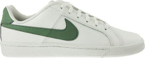 Nike Buty dziecięce Court Royale Gs biało-zielone r. 36 1/2 (833535-104)