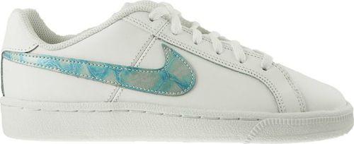 Nike Buty dziecięce Court Royale Gs biało-niebieskie r. 36 1/2 (833654-100)