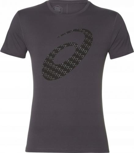 Asics Koszulka męska Silver Graphic SS Top #3 szara r. L (2011A328-020)