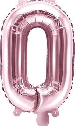 """Party Deco Balon foliowy Litera """"O"""", różowe złoto, 35cm uniwersalny"""