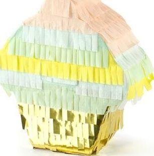 Party Deco Piniata Muffinka, mix, 9x10x3,5 cm uniwersalny