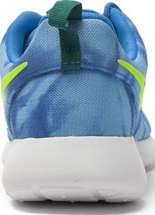 Nike Buty męskie Rosherun Print niebieskie r. 43 (655206-430)