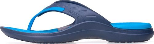 Crocs Klapki, japonki Crocs Modi Sport Flip Navy/Ocean 202636-49T 37-38
