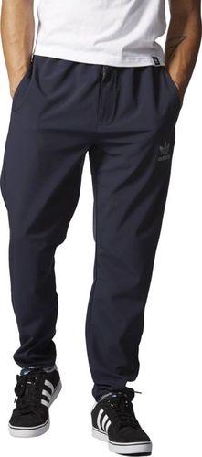 Adidas Spodnie męskie Tp Running AJ7857 granatowe r. XS