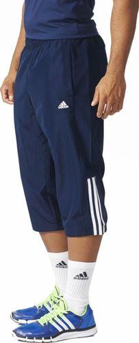 Adidas Spodnie męskie Base 3 Stripes Pant granatowe r. S (AB6386)