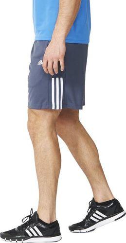 Adidas Szorty męskie Base 3S Short Kn szare r. S (AY4441)