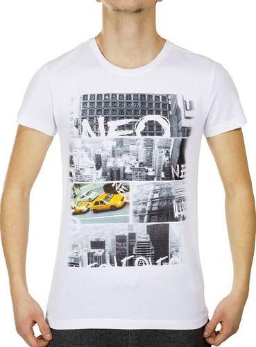 Adidas Koszulka męska Neo Urban T biała r. XS (Z90690)