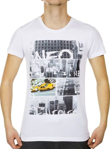 Adidas Koszulka męska Neo Urban T biała r. XL (Z90690)