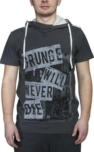 Adidas Koszulka męska Neo Grunge Tee szara r. XS (B85129)