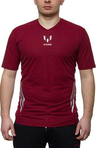 Adidas Koszulka męska F50 ME TR TEE bordowa r. M (F85302)