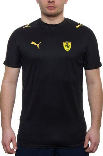 Puma Koszulka męska Scuderia Ferrari czarno-żółta r. S (760166-01)
