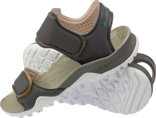 Adidas Sandały damskie Stella McCartney Hikira S78413 brązowe r. 38