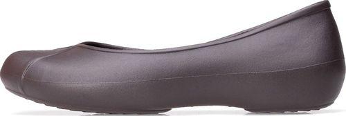 Crocs Baletki Crocs Olivia ll Lined Flat Espresso 203428-206 34-35