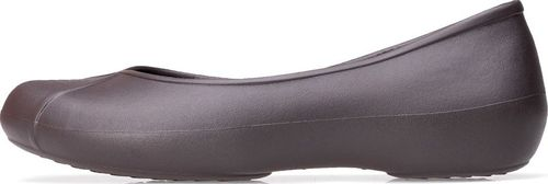 Crocs Baletki Crocs Olivia ll Lined Flat Espresso 203428-206 36-37