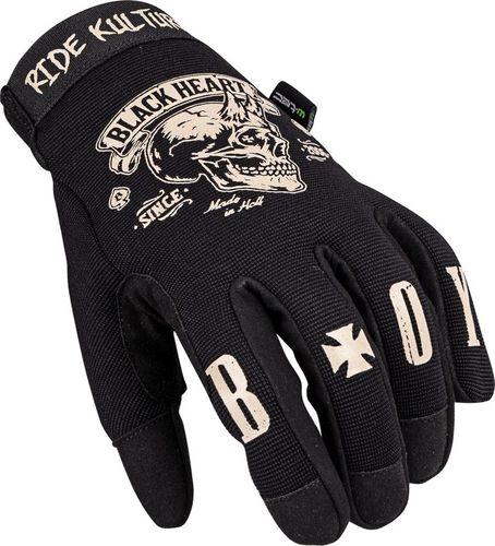 W-TEC Rękawice motocyklowe W-TEC Black Heart Rioter Kolor Czarny, Rozmiar L