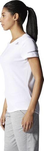 Adidas Koszulka damska Run Tee biała r. XL (S02988)