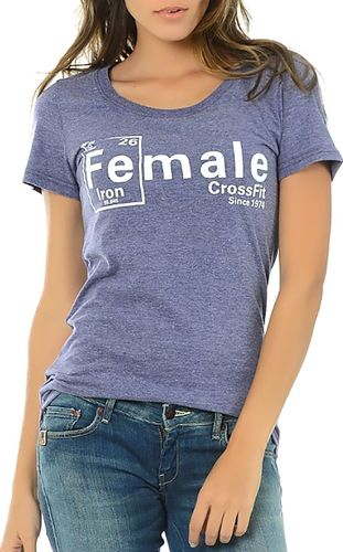 Reebok T-shirt Reebok Crossfit Iron Tee B87212 S