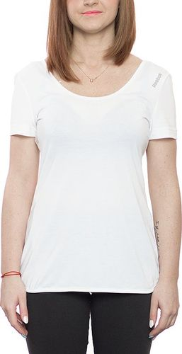 Reebok Koszulka damska Sport Essentials Layering biała r. XL (Z80885)