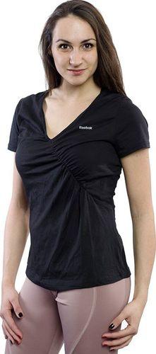 Reebok Koszulka damska Sport Essentials Ctn Tee czarna r. M (W43520)