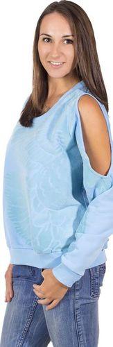 Adidas Bluza damska Rita Ora SweatShirt niebieska r. XS (S11810)