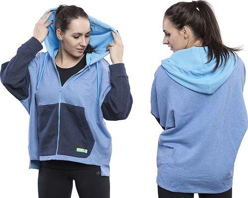 Adidas Bluza damska StellaSport Fz Hoody niebieska r. S (S21219)