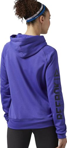 Reebok Bluza damska Wor Zip Hood fioletowa r. XXS (AY2209)