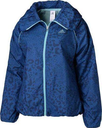 Adidas Kurtka damska Wind Up Jacket ActiveTraining niebieska r. S (S04735)