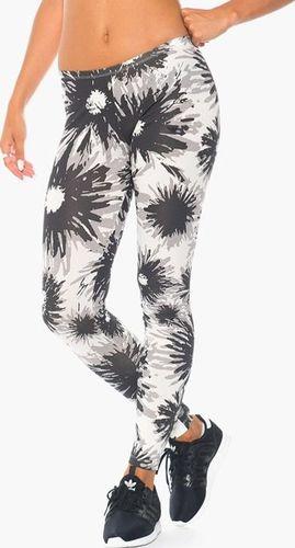Adidas Legginsy damskie Daisie czarno-białe r. 34 (F78226)