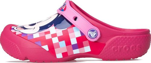 Crocs Klapki Crocs Crocsfunlab Mickey Clog Candy Pink 204708-6X0 19-20
