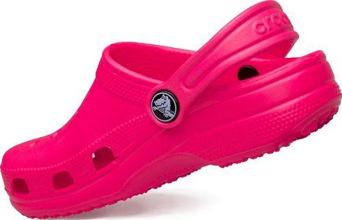 Crocs Klapki Crocs Kids' Classic Clog Pink 10006-6L0 19-21